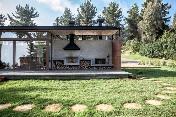 BBQ area / Bustamante House / PAR Arquitectos