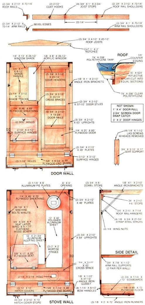 25 best ideas about ice fishing shelters on pinterest for A frame hut plans
