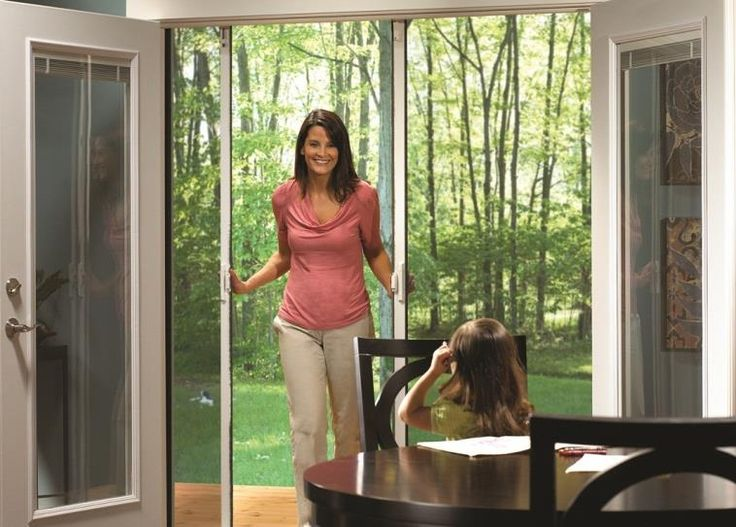 Retractable Screens Can Be Used For Single Doors, Sliding Doors And French  Doors. Your