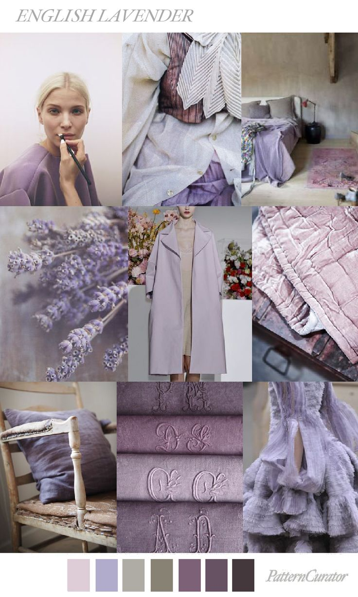 ENGLISH LAVENDER by PatternCurator