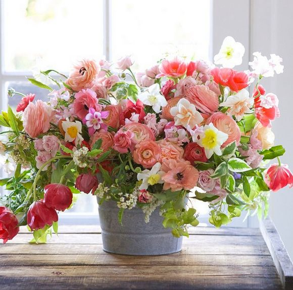 Bouquet of Summer flowers from Country Living Magazine.