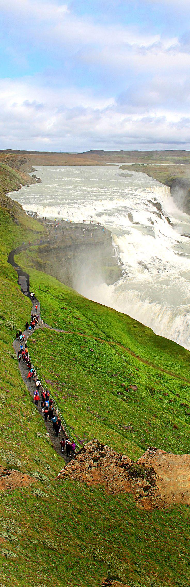 Gullfoss Waterfall // Iceland
