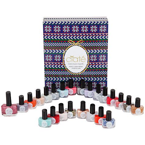 Buy Ciaté Mini Nail Lacquer Advent Calendar Gift Set Online at johnlewis.com