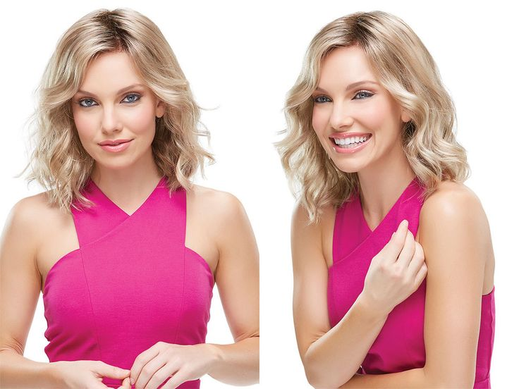 Medium Light and Breezy SmartLace Front Scarlett By Jon Renau Wavy Straight Wigs #FullWig