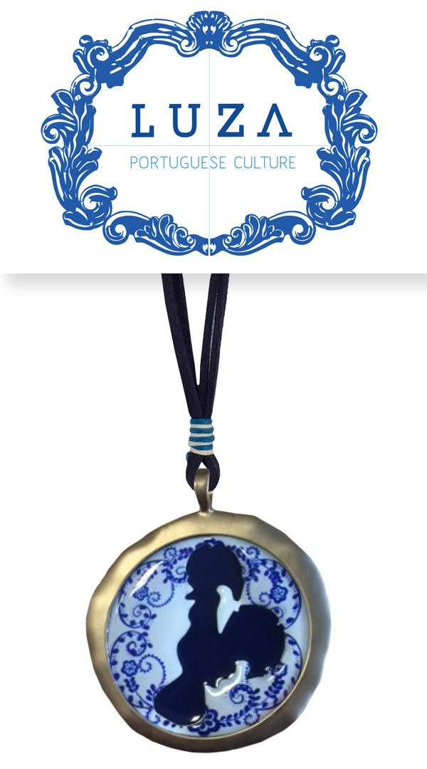 Colar com motivo tradicional Português / Necklace with a traditional Portuguese icon · €39,00