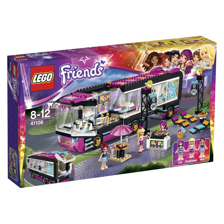 LEGO Friends Popstar Tourbus 41106