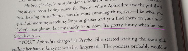 Jason and his glasses. YES!!! Percy Jackson's Greek Heroes p. 64<<<I died when I read this
