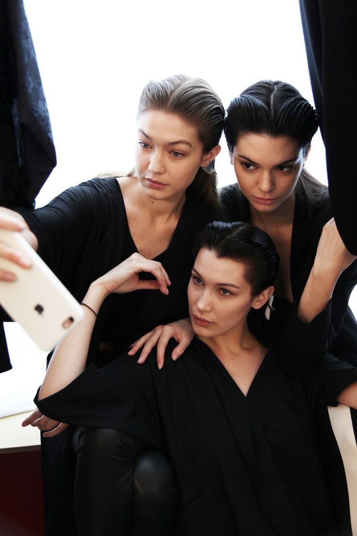 pinterest | bellloneil | Gigi and Bella Hadid & Kendall Jenner