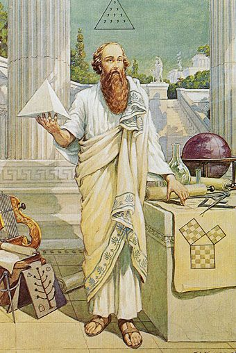 Pythagoras Etidorhpa's illustrator, J. Augustus Knapp (1853–1938)