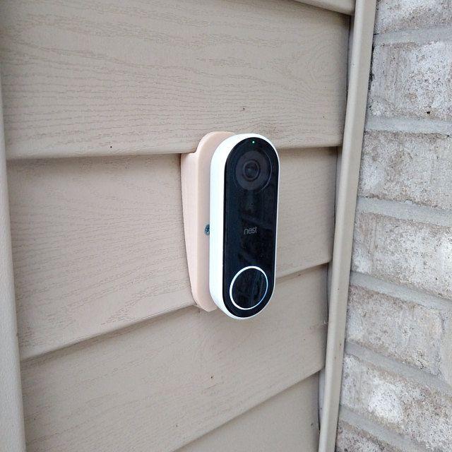 Nest Hello Doorbell Mount For Vinyl Hardi Board Aluminum Etsy Vinyl Siding Vinyl Siding Colors