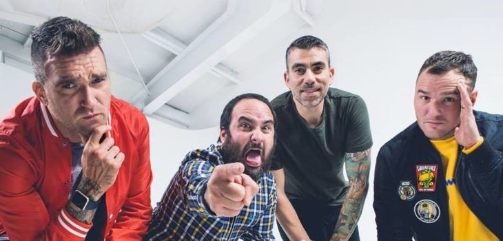 Alterock   NEW FOUND GLORY's Cryptic Teasing Is Over, Band Announces Album 'Makes Me Sick'