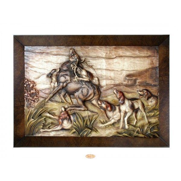 """Картина """"Охота на оленя"""""""