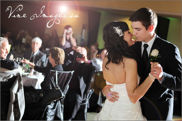 The first dance. Photos by Vine Images