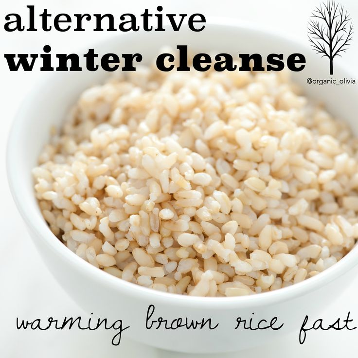 Alternative Winter Cleanse: Warming Brown Rice Fast