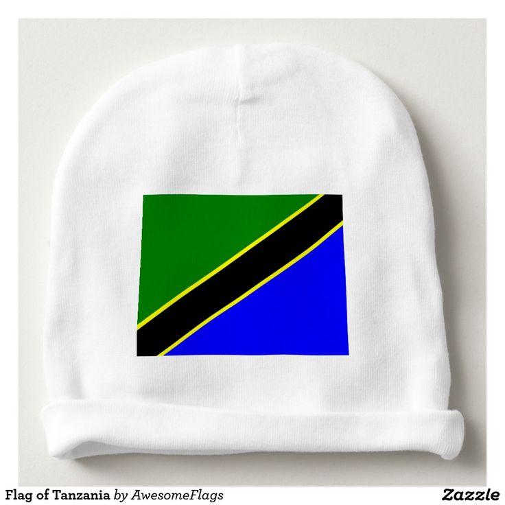 Flag of Tanzania Baby Beanie