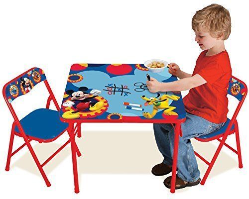 Mickey Mouse Clubhouse Capers Erasable Activity Table Set Toy #MickeyMouse