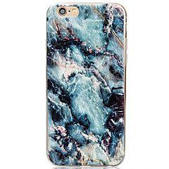 Til Etui iPhone 6 Etui iPhone 6 Plus Annen Etui Bakdeksel Etui Marmor Myk TPU til Apple iPhone 6s Plus/6 Plus iPhone 6s/6 iPhone SE/5s/5 – NOK kr. 44