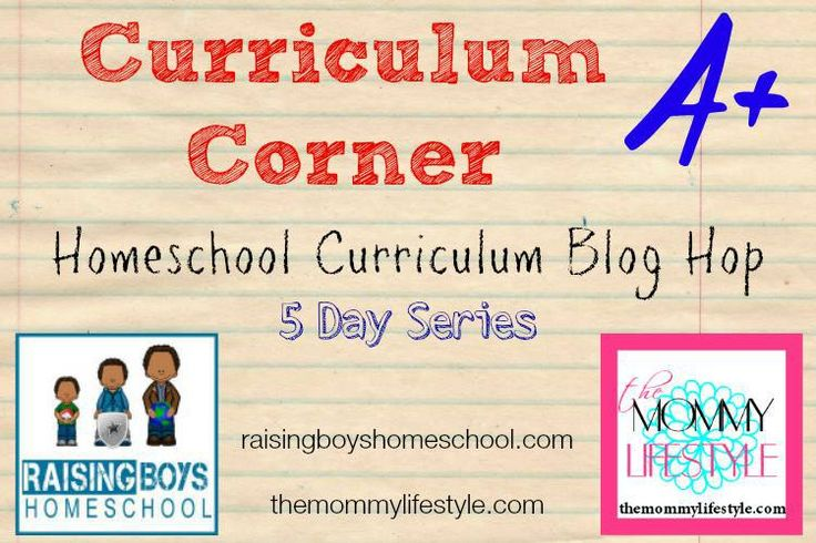 CurriculumCorner RaisingBoysHomeschool