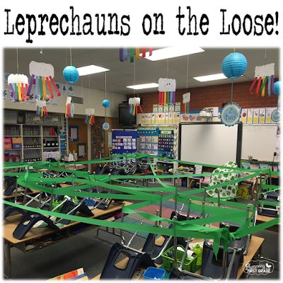 St. Patrick's Day in the Classroom Leprechauns on the Loose!