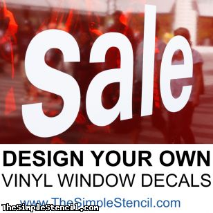 Best DIY Business Signs Vinyl Window Decals  Mission - Window decal custom vinyl