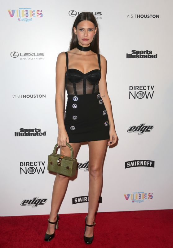 Bianca Balti – VIBES by Sport Ilustrated Swimsuit 2017 Launch in Houston.