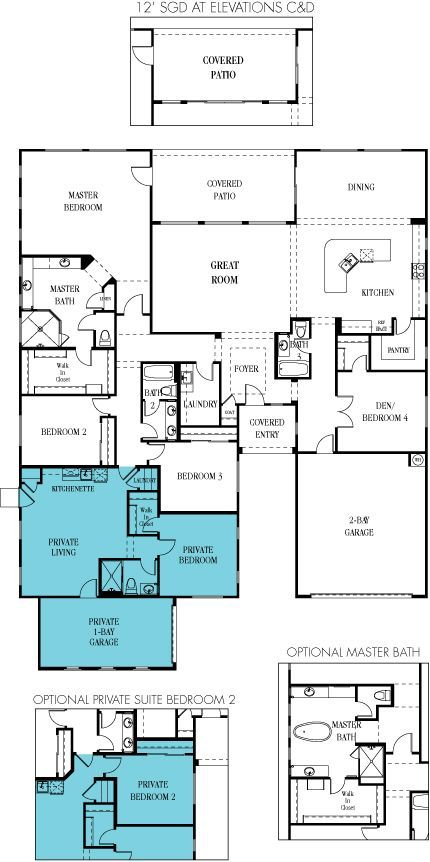 Lennar multigenerational homes floor plans home decor ideas for Multigenerational home designs