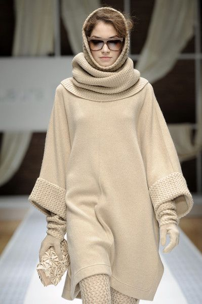 Laura Biagiotti Fall 2010-- if only it was old enough here to wear this!!
