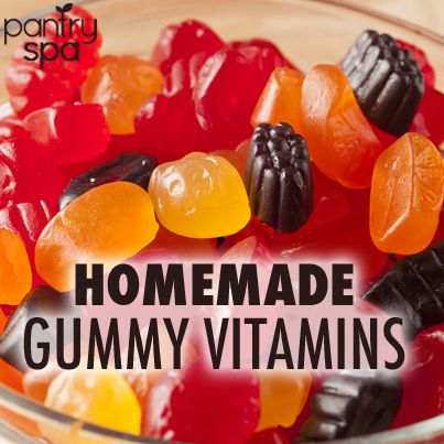 Homemade Gummy Vitamin Recipe: Natural Probiotics Vitamins ...