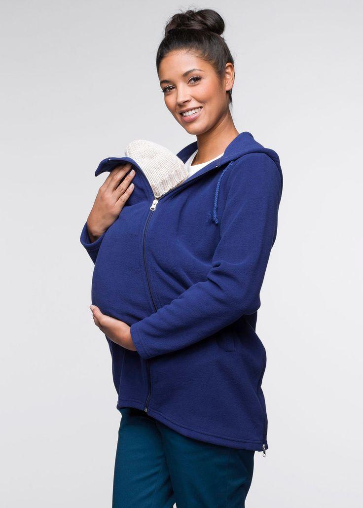 veste polaire de grossesse avec empi cement pour b b veste polaire bleu nuit et polaires. Black Bedroom Furniture Sets. Home Design Ideas