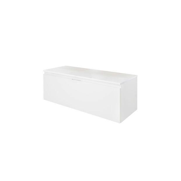 Mod le evasion l 90 cm meuble sous vasque ou meuble de rangement lapeyr - Rangement toilette ikea ...
