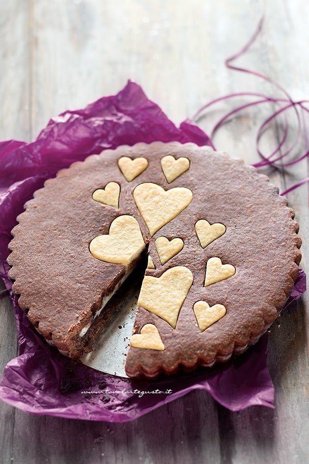 Crostata ricotta e nutella dal cuore cremoso - Ricetta Crostata Ricotta e Nutella