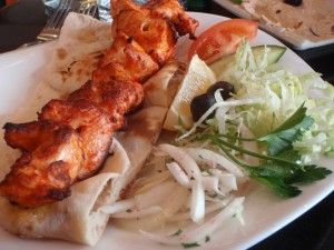 High quality middle eastern fare, near to Edinburgh University and the main Festival Fringe venues