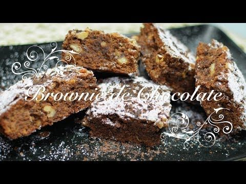 Brownie de Chocolate Thermomix | Brownie Thermomix | Brownies Thermomix | Brownie en Thermomix - YouTube