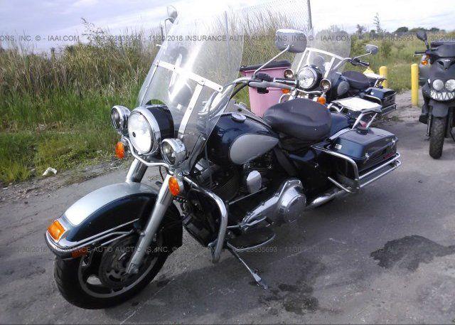 Bid On Clean Salvage Title Harley Davidson Motorcycle At