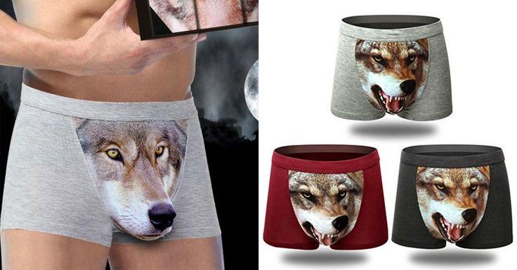 Ak si myslíš, že máš v rozkroku šelmu, môžeš to dať najavo aj takýmito boxerkami. (Foto: amazon.com)