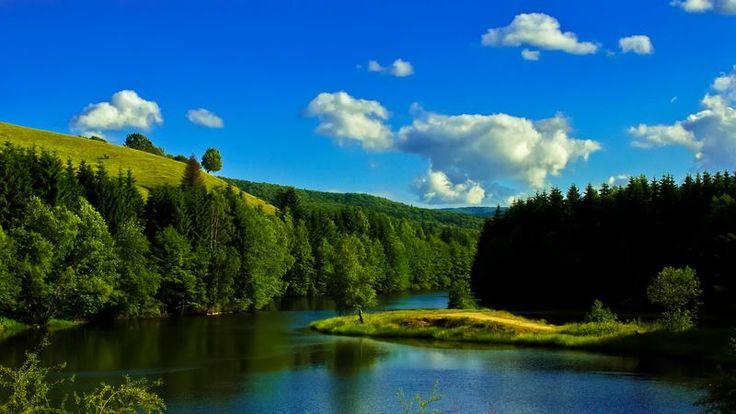 Un colț de rai ascuns în inima munților.