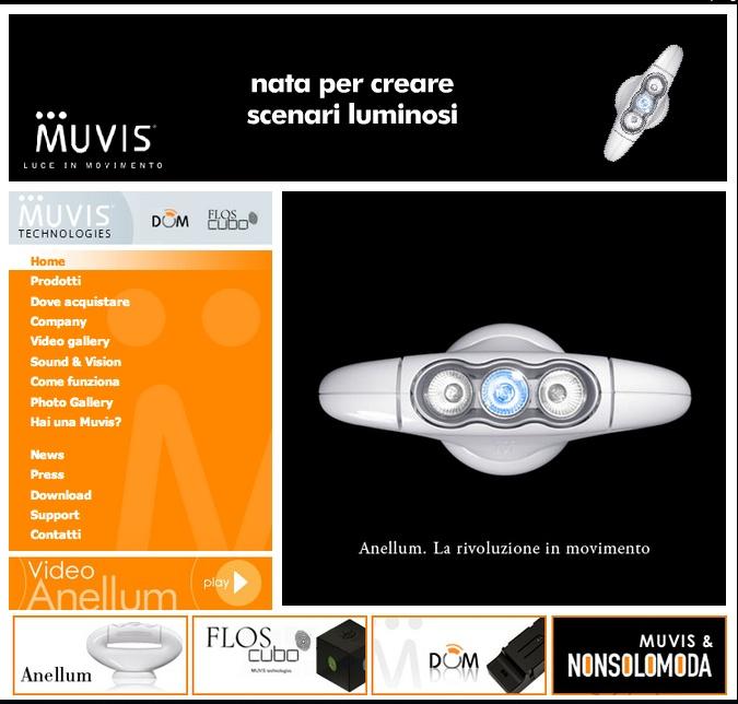 Muvis: nella fase di startup abbiamo creato la rete di distribuzione su tutto il territorio italiano coinvolgendo su questo progetto innovativo i migliori 500 negozi di illuminazione.