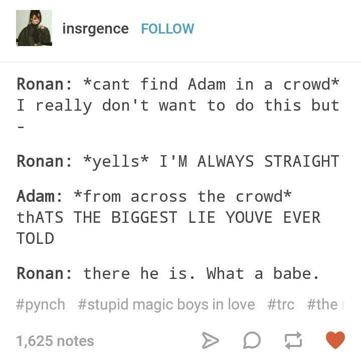Adam and Ronan