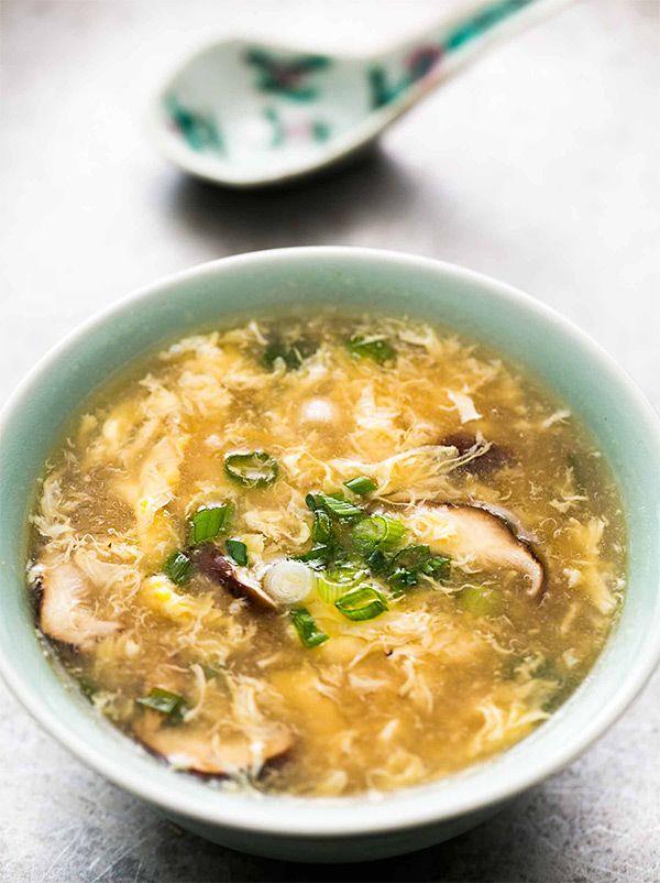 Быстрый китайский суп Даньхуатан