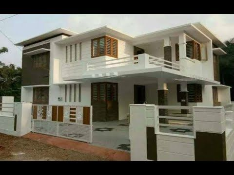 Modern Double Floor House 1200 Sft For 12 Lakh Elevation Design