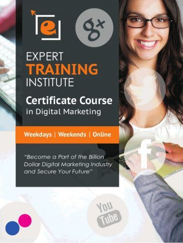 Learn and earn with digital marketing concepts from Expert Training Institute in Rohini, Delhi NCR. ETI is a leading institute for digital marketing. It has been providing training since 201...