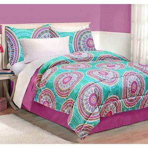 Latitude Medallion Bedding Comforter Set