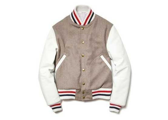 #Pin By:Pinterest++ for iPad#: Varsity Jackets, 2012 Fall Wint, Brown 2012, Men Fashion, Fallwint 2012, Thombrown, Letterman Jackets, Thom Brown, Brown Varsity