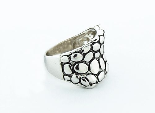 Sterling Silver Hammed Ring
