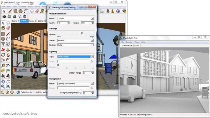 The Latest Version Of Shaderlight Pro Is Compatible With Sketchup