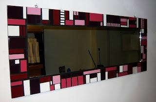 Arts and Crafts: Espejo Mosaicos