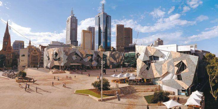 Cuadrado de la federación - Melbourne VIC, Australia