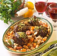 Recipe for Lamb with Beans