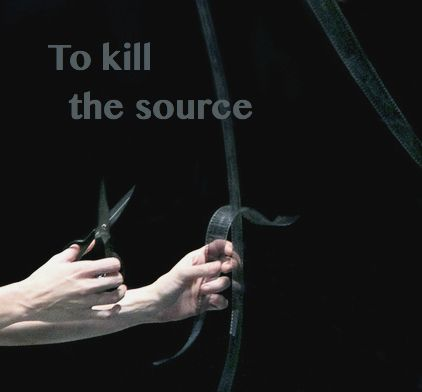 Chaos tells the Fates something significant about their mother's plight - and Atropos just may be tempted to set about snipping... (Illustration for Scene 3.7: The Source)