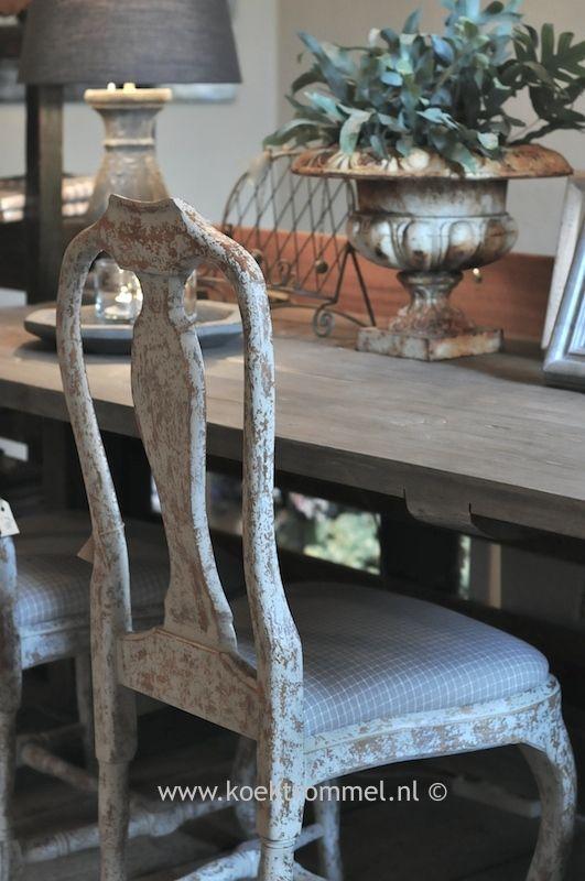 eetkamerstoel in Gustaviaanse stijl